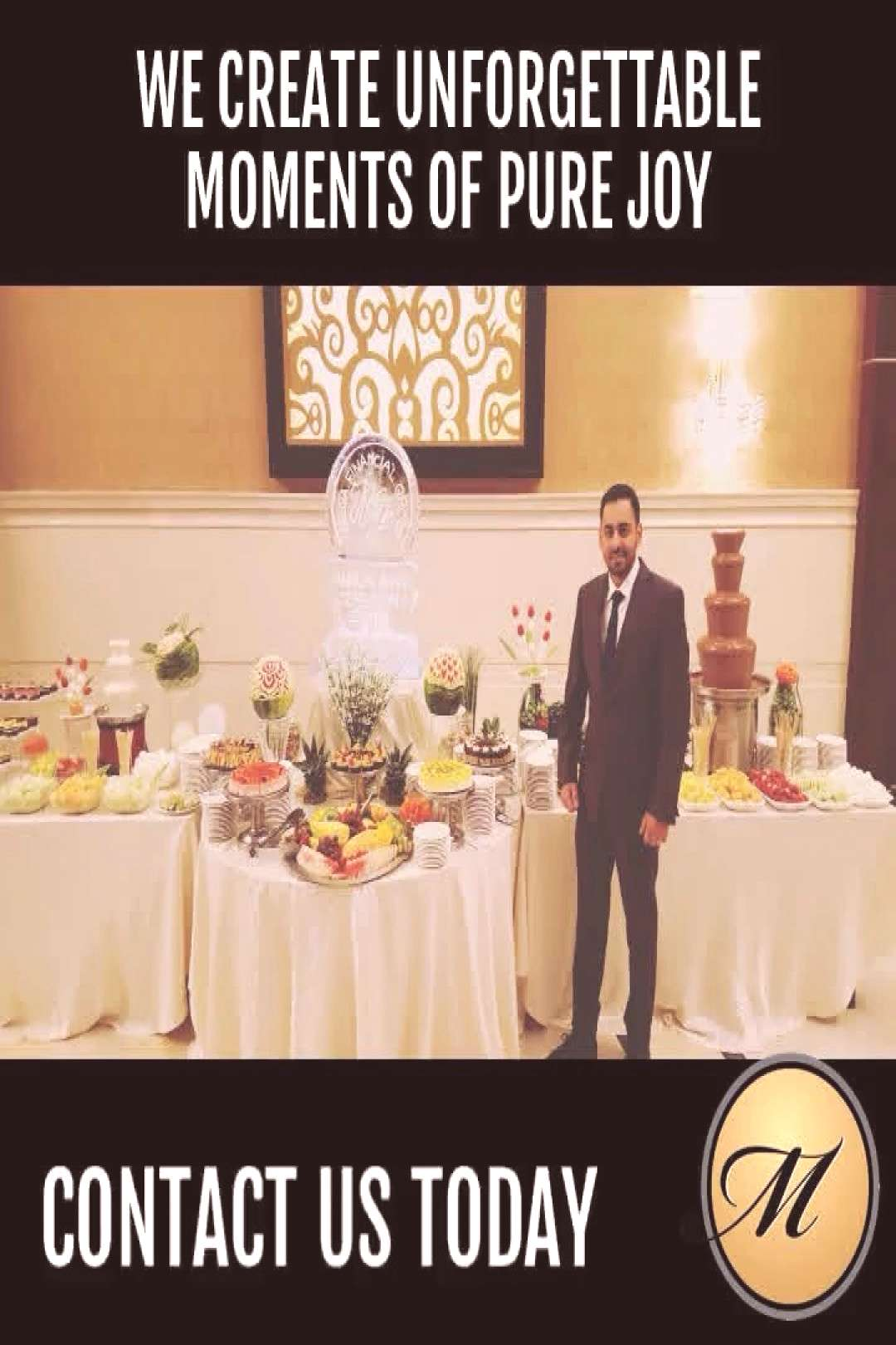 Our Lavish Dessert table to make your wedding memories even more