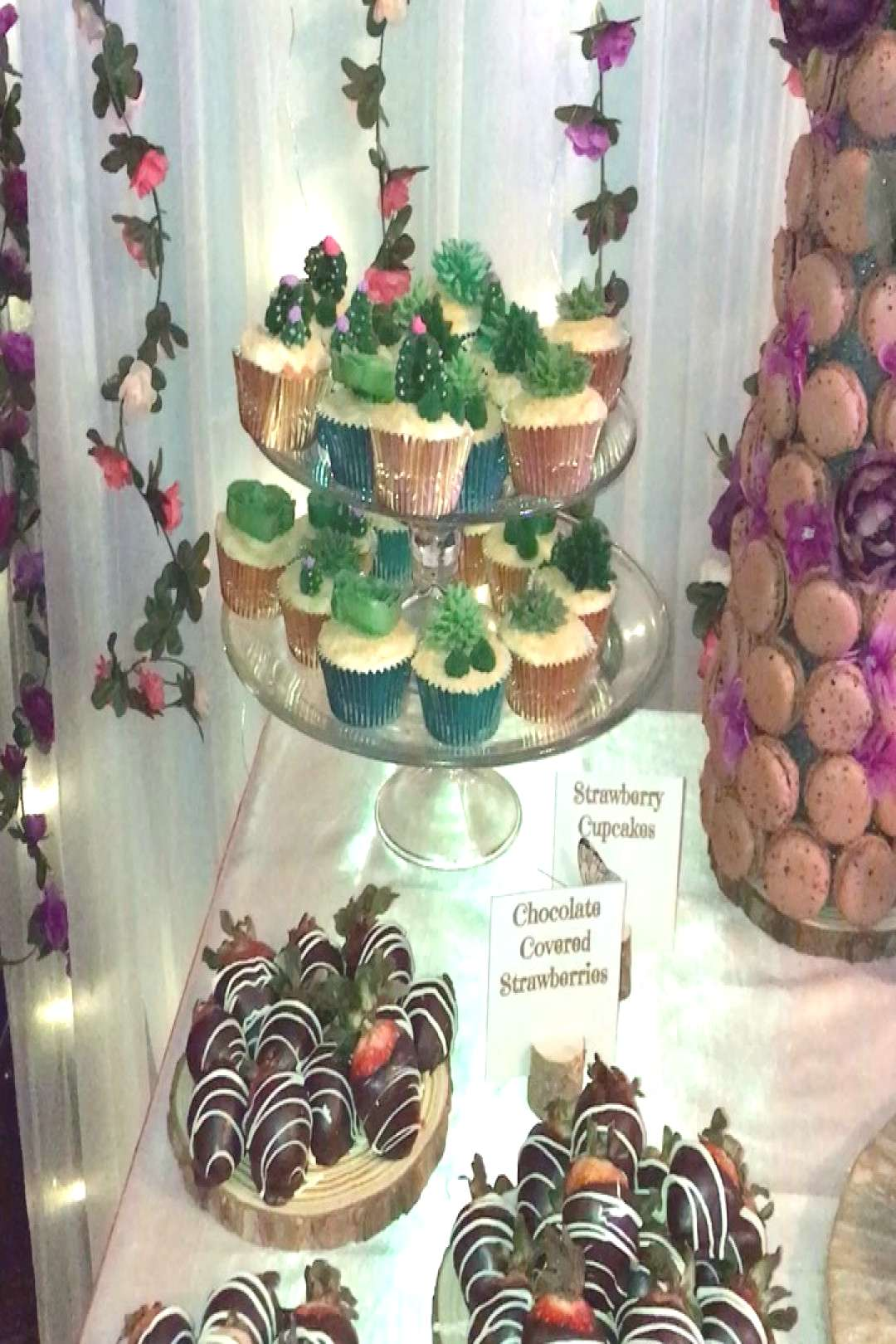 So proud of this sweets table for an enchanted love themed party