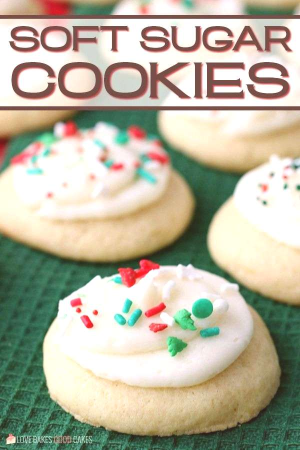 Soft Sugar Cookies If you're looking for the BEST Soft Sugar Cookies - look no further! They're per