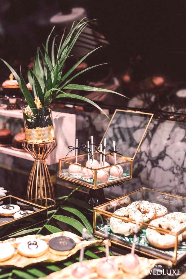 Sweet Table for a Great Gatsby Wedding