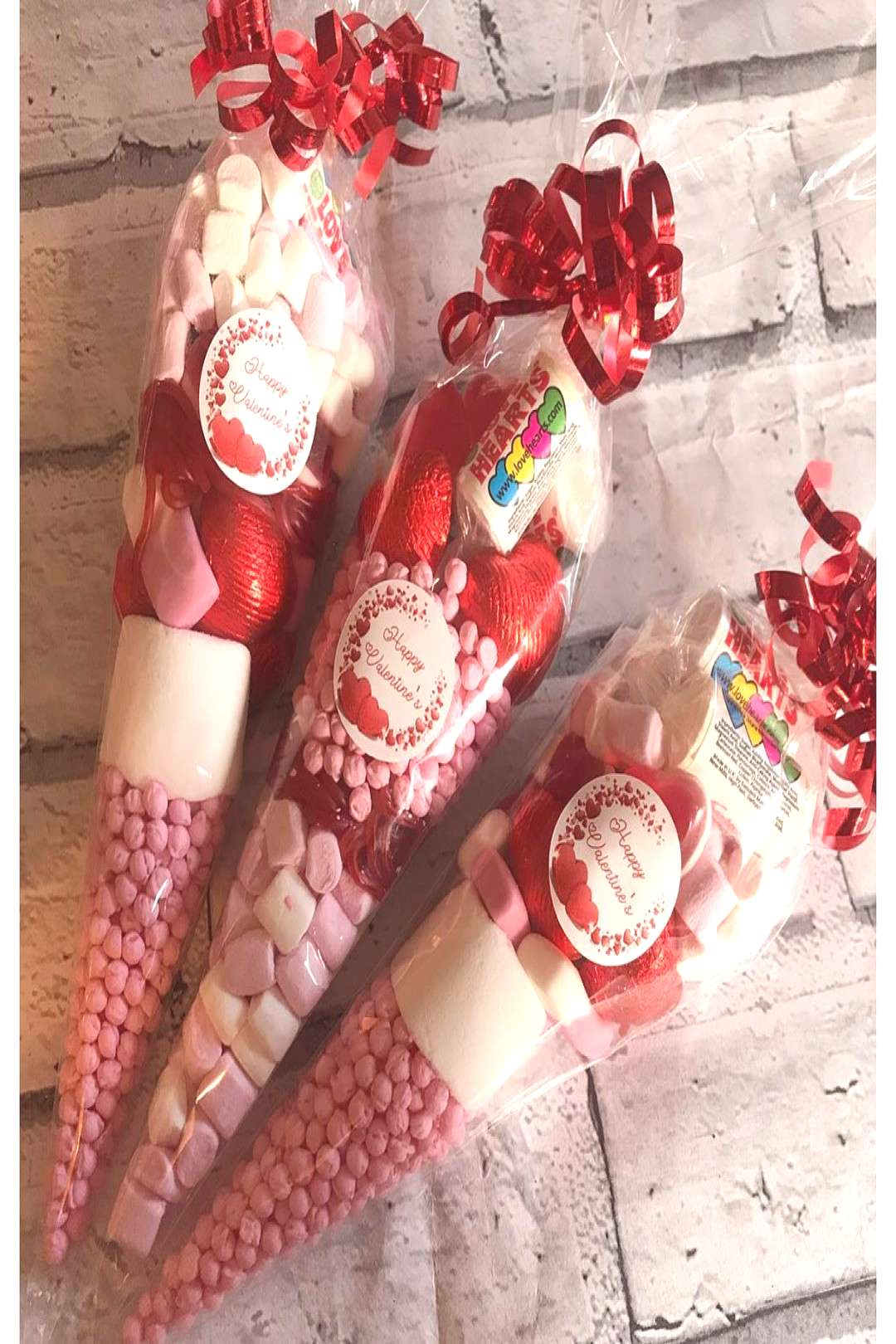 Valentine's Day sweet cones cute little gifts I have 50 available