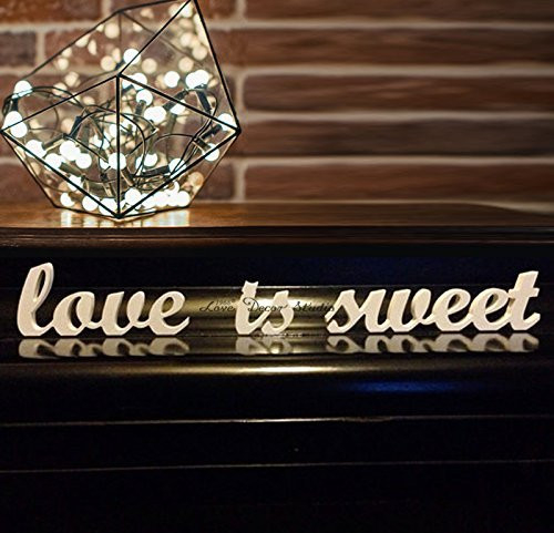 Wedding Decoration Love is Sweet Letters for Sweetheart