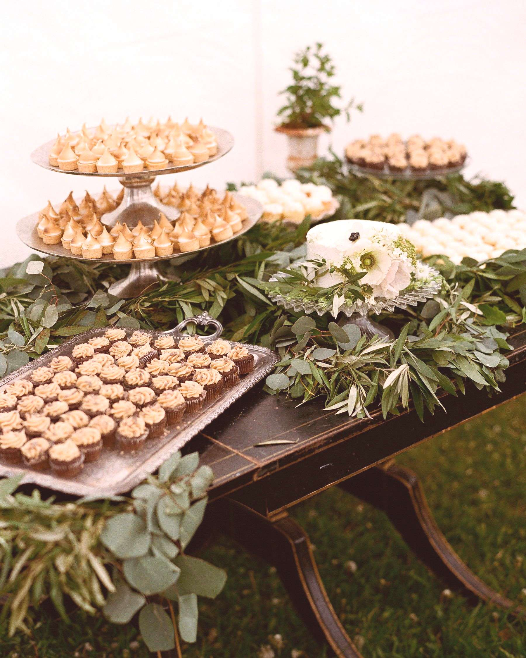 Weve rounded up some of our favorite dessert table ideas from real weddings to help you find all t