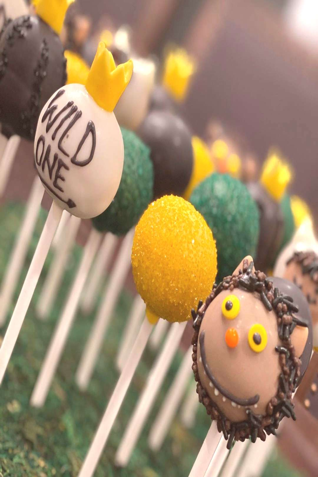 Where the wild things are cake pops turned out so cute!! #cakepop